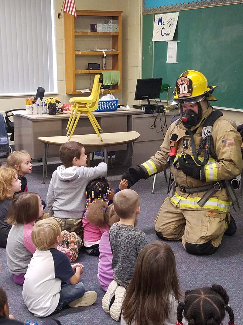 Tipton Academy Firefighters